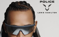 Police collaborates with Lewis Hamilton on 10-piece eyewear collection