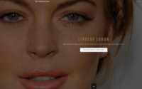 Lindsay Lohan will launch a lifestyle website