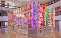 Gucci opens new themed temporary stores called 'Pin'
