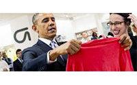 Etats-Unis: Obama promet 500 millions de dollars à l'industrie textile
