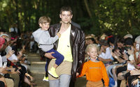 Balenciaga does weekend dad's wear in the Bois de Boulogne