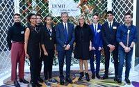 Arnault fetes new laureates of LVMH's Institut des Métiers d'Excellence