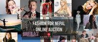 著名デザイナーがネパール支援に賛同「Fashion Girls for Humanity」オークション実施