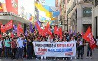 CCOO cifra entre 70 % y 80 % el seguimiento de la huelga en el sector textil