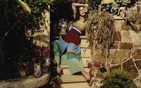 Irina Shayk is the face of Missoni's summer campaign