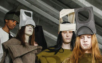 Headgear galore at the Paris Fashion Week