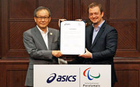 Asics announces official supplier agreement with IPC