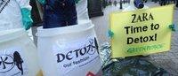 Greenpeace: agenti tossici negli abiti di grandi marchi
