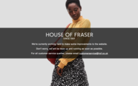 "House of Fraser website ""could reopen next week"" - report"