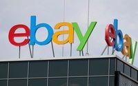Общая выручка eBay за первое полугодие выросла на 8%