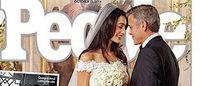 É de Oscar de la Renta que Amal Alamuddin casou-se com George Clooney