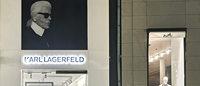 Karl Lagerfeld eröffnet Pop-up-Store in Frankfurt
