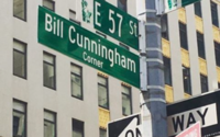 New York City temporarily names street corner after Bill Cunningham