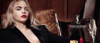 Откровенная реклама Кары Делевинь для Saint Laurent