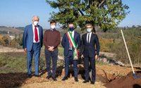 Fendi posa la prima pietra della Factory in Toscana