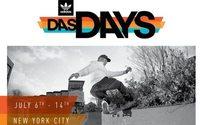 Adidas Das Days skateboarding tour moves to NY