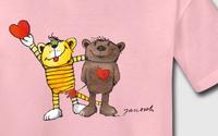 Spreadshirt erweitert Janosch-Kollektion