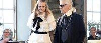 Chanel : nächste Modenschau im Filmstudio-Komplex Cinecittà in Rom
