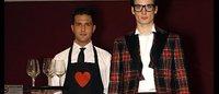 Moschino: invito a ristorante con sfilata