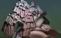 Nick Knight photographs stunning Comme Des Garçons editorial