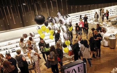 grazia und breuninger feiern girls shoe night in stuttgart news events 814003. Black Bedroom Furniture Sets. Home Design Ideas