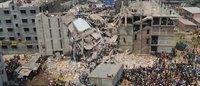 Tödliche Arbeit: Textilfabriken in Bangladesch krachten zusammen