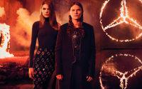 Bei der Mercedes-Benz Fashion Week brennt's