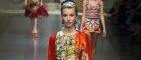 Giorgio Armani dazzles, Dolce&Gabbana get playful in Milan