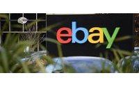 eBay corta previsões de receitas para 2014 e ações caem