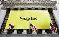Snapchat-Aktie stürzt nach schwachen Quartalszahlen ab