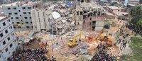 Autoridades no Bangladesh fecham edifício fabril com fissuras nas paredes