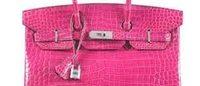 Christie's: Crocodile-skin handbag sells for a record $222,912