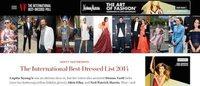Vanity Fair誌の2014年ベストドレッサーにファレルやブータン国王選出