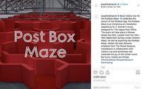 Anya Hindmarch unveils the 'Postbox Maze' for London Fashion Week