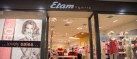 Etam registra una caída en sus ventas durante el tercer trimestre