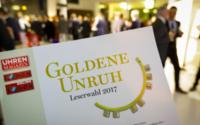 Verleihung der Goldene Unruh 2017 - 21.000 Leser stimmten ab