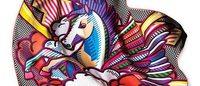 Pégase Pop é o novo modelo de lenço da grife francesa Hermès