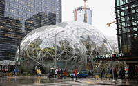 Amazon.com opens innovative rainforest office space in Seattle