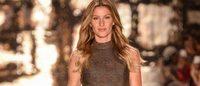 Gisele Bündchen é ovacionada na Semana de Moda de São Paulo