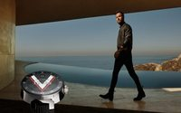 Justin Theroux and Sophie Turner showcase latest Louis Vuitton smartwatch