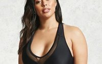 Forever 21 launches plus-size swimwear