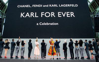 A final farewell to Lagerfeld in Paris with 'Karl For Ever'