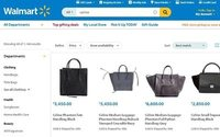 Consumers can buy and sell luxury brands at Walmart