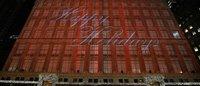 Saks Fifth Avenue周一推出圣诞橱窗
