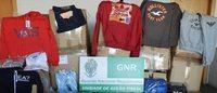 GNR apreende em Famalicão mercadoria têxtil contrafeita no valor de 196 mil euros