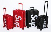 Supreme s'associe à Rimowa pour une collection de bagages haut de gamme