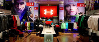 Under Armour inaugura brand house en Paraguay