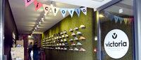 Victoria abre su primera tienda efímera en Londres
