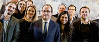 ShowroomPrivé : visite surprise de François Hollande