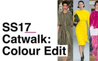 Geraldine Wharry: S/S 2017 Catwalk Innovation: Colour Edit